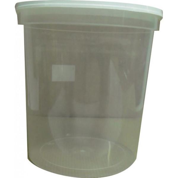 Frasco/ pote de plástico de 1 kg