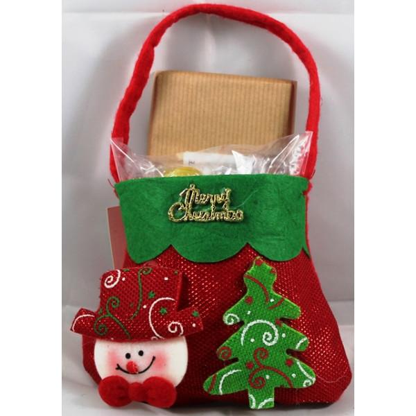 Bolsa Natal com Rebuçados e Chocolate de Mel