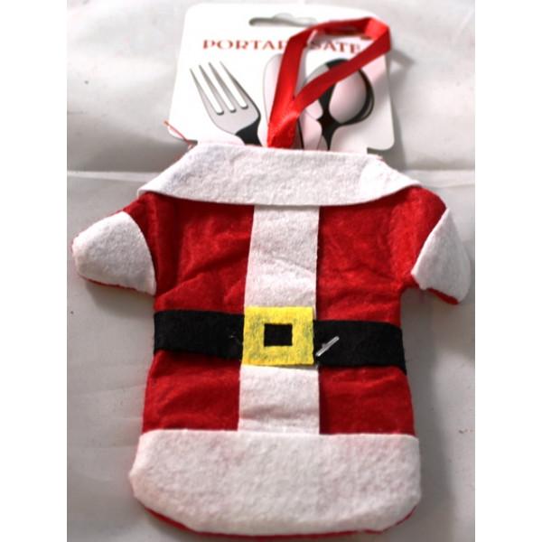 Bolsa Pai Natal para Talheres