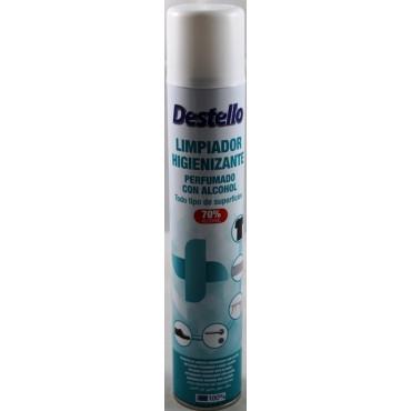 Spray Higienizante com 70% álcool 400 ml