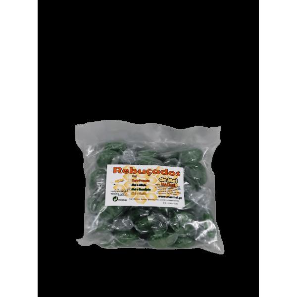 Rebuçados de mel e eucalipto saco 250 gr