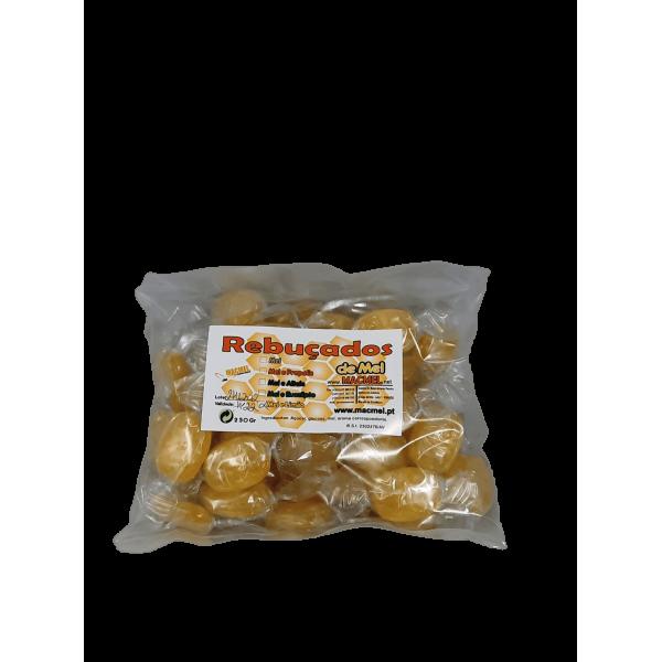Rebuçados de mel e limão saco 250 gr