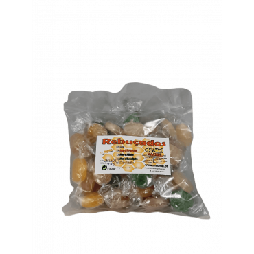 Rebuçados de mel sortidos saco 250 gr