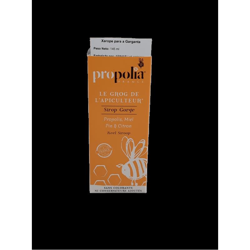 Xarope para a tosse de propolis com mel e plantas 145 ml