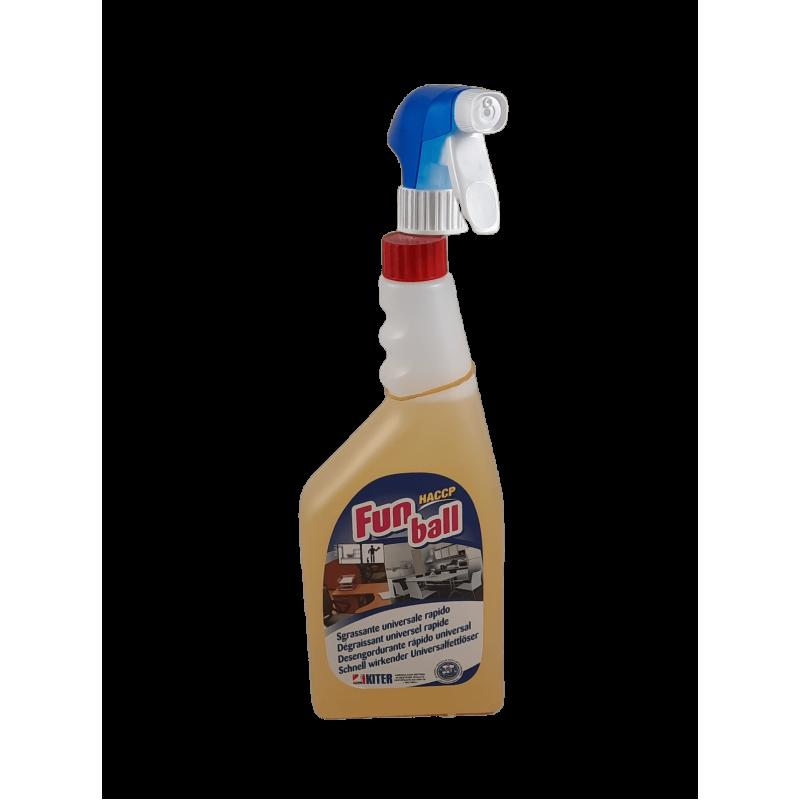 Limpeza da propolis com pistola pulverizadora