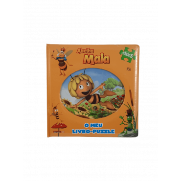 Livro - Puzzle Maia