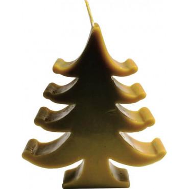 Vela de Cera Natural de Abelha - Pinheiro de Natal