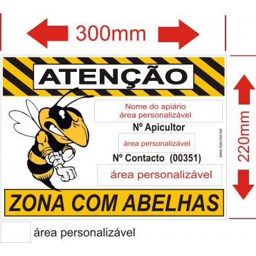 placa para apiario 1