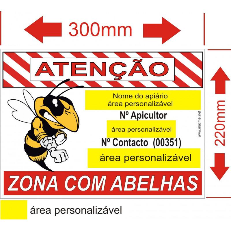 placa para apiario 2