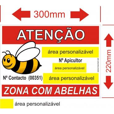 placa para apiario 3