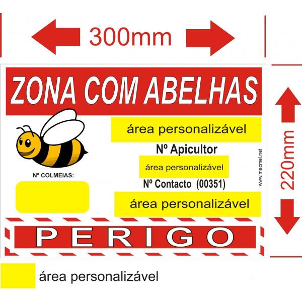 placa para apiário 4