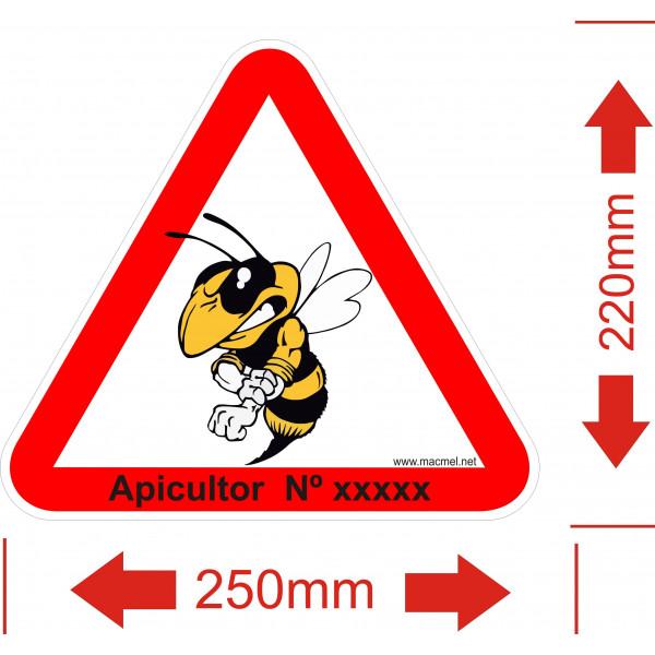 placa para apiário 5