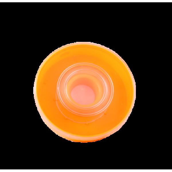 Alimentador cor-de-laranja para 1 kg