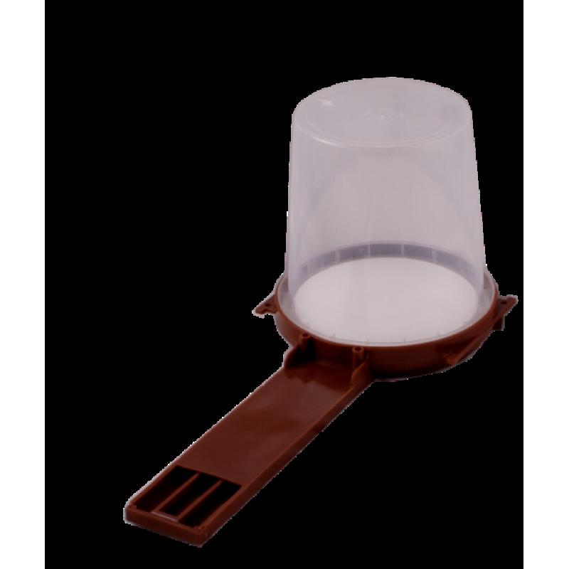 Alimentador frontal com copo