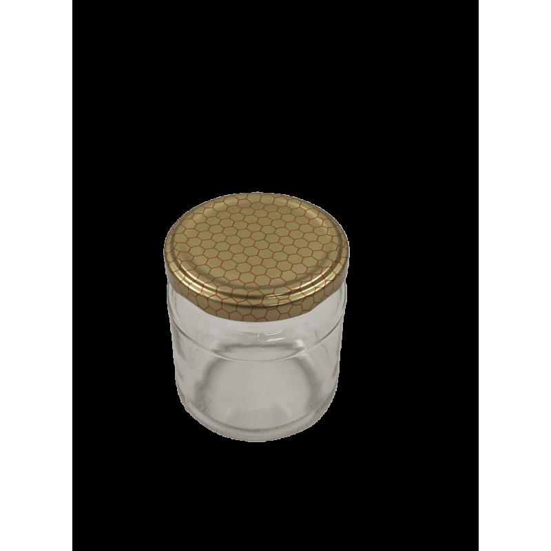 Caixa 12 frascos 250 gr com tampa alvéolo