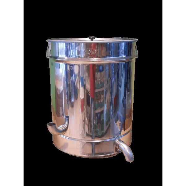 Caldeira de derreter cer 115 Lt em inox 530mm diametro