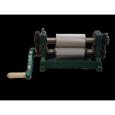 Máquina manual de laminar cera com corte automático