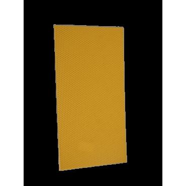 Placa plástica imitação cera ninho langstroth