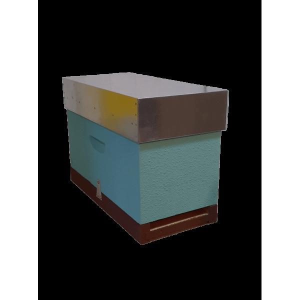 Colmeia núcleo Lusitana pintada com cera