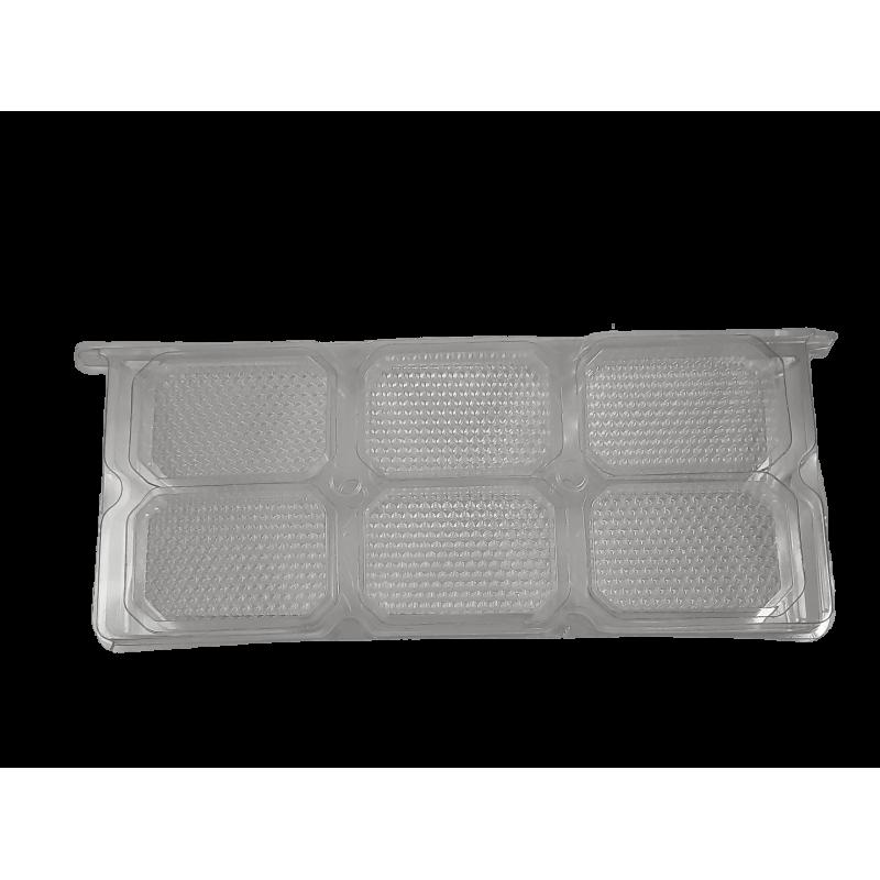 Quadro 1/2 alça langstroth em plástico para favos