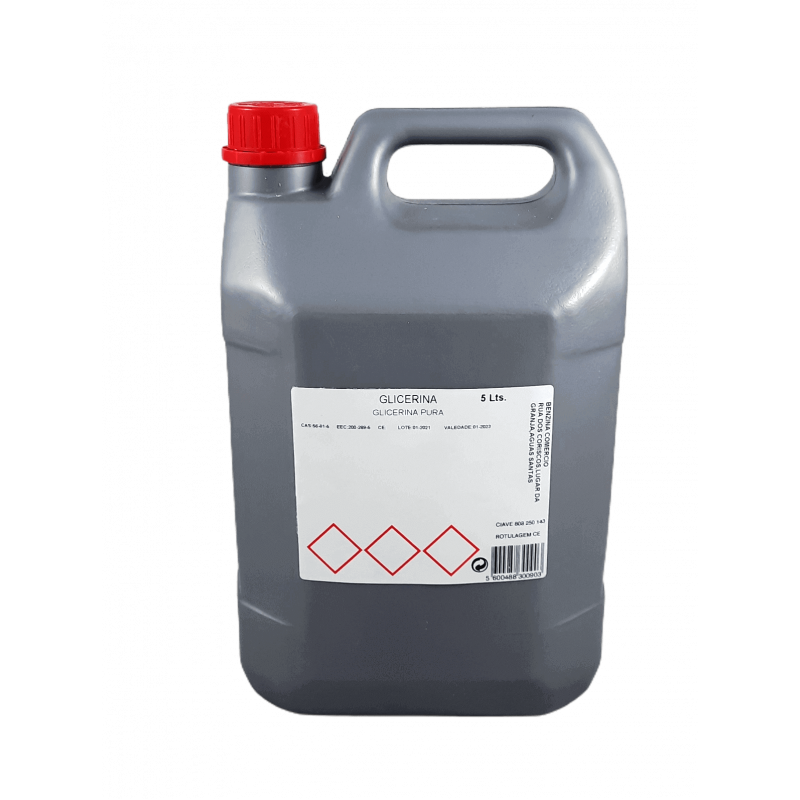 Glicerina garrafão 5 Lts