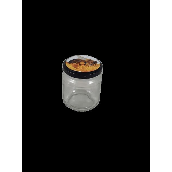 Frasco de 250 gr com tampa com abelha em palete (0.20 + IVA em palete de 3757)