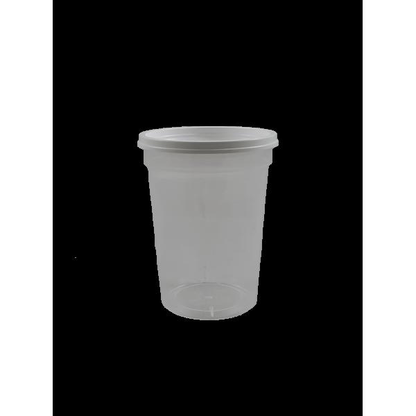 Frasco/ pote de plástico de 250 grs