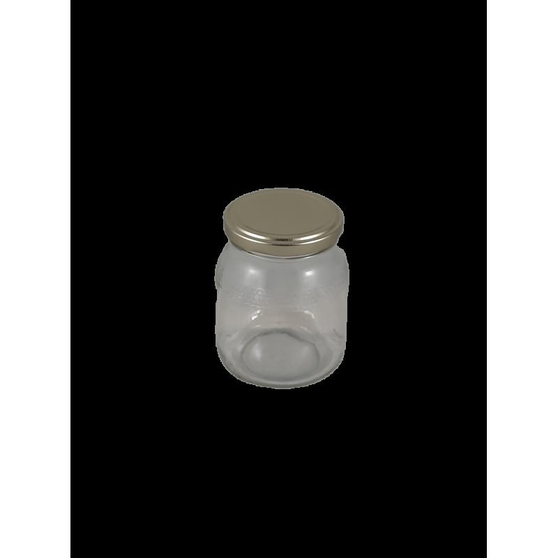 Frasco de 500 gr favo com tampa dourada em palete de 1820 frascos (0.25 + IVA por frasco)