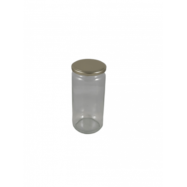 Frasco de 1 kg liso c/tampa dourada em palete de 1176 frascos (0.24 + IVA por frasco)