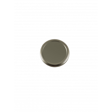 Tampa metalica dourada para frasco