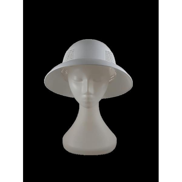 Chapéu ventilado plástico
