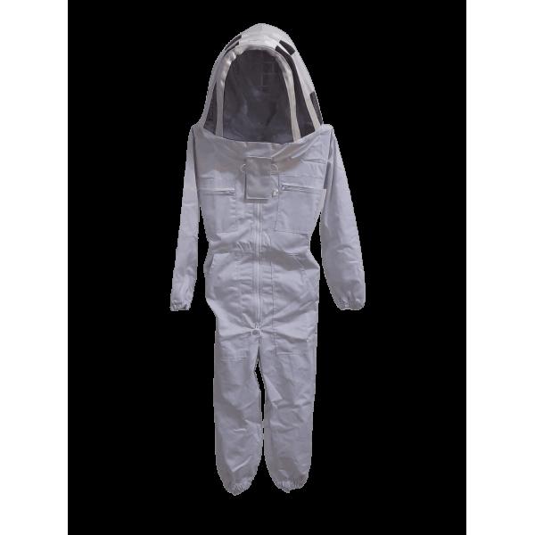 Fato apicultor criança pano simples com máscara oval