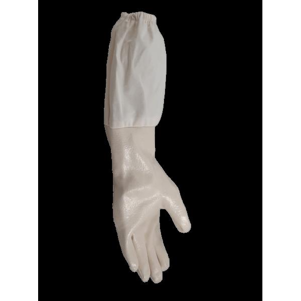 Luva de nitrilo brancas
