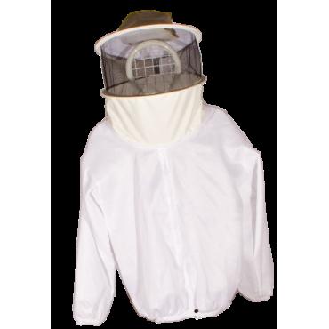 Casaco apicultor com mascara pano simples
