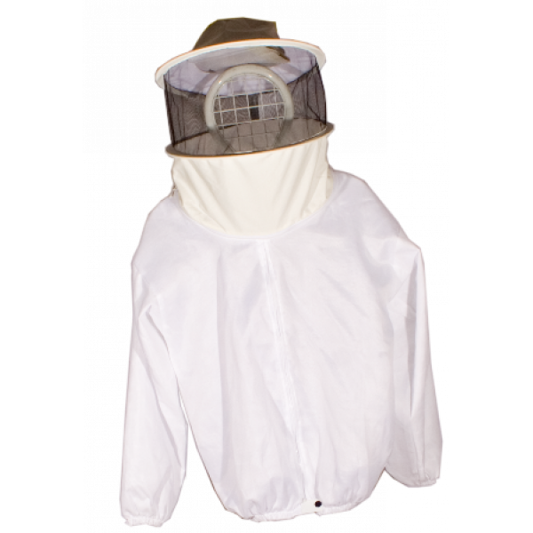 Casaco apicultor com mascara pano duplo