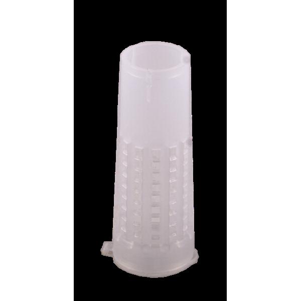 Gaiola Branca para proteção de alvéolos reais