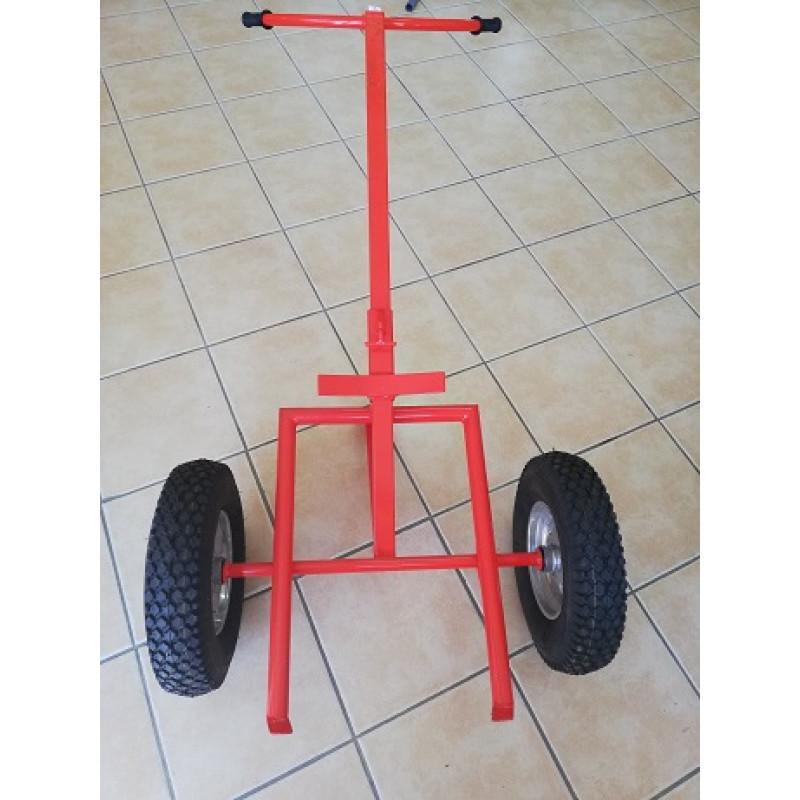 Carro para transporte de bidões 2 rodas