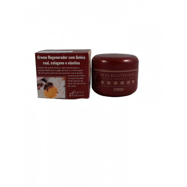 Creme anti-rugas com geleia real  100ml