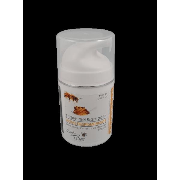 Creme manchas mel e propolis 50 ml