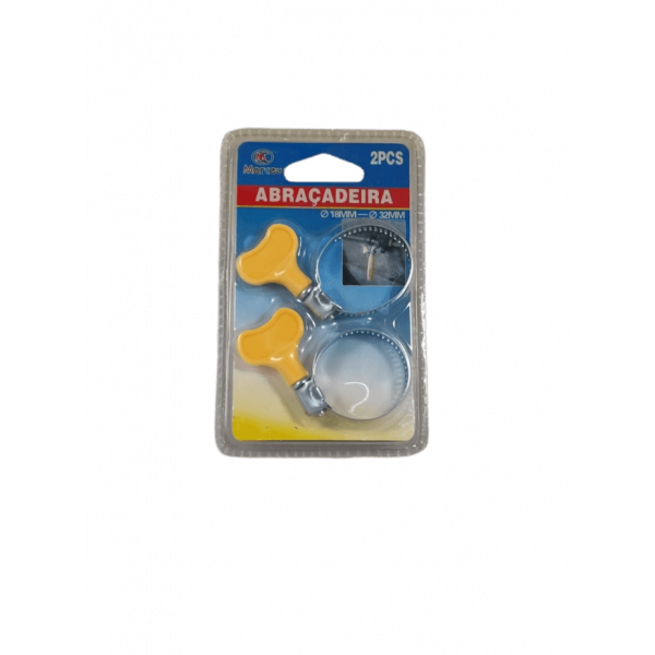 Abraçadeiras de 18 mm a 32 mm - Conjunto de 2