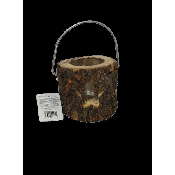Lanterna para Velas - tronco