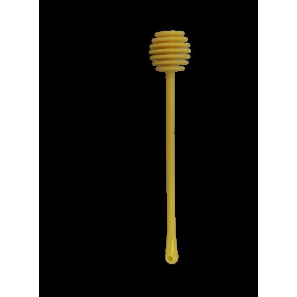 Colher plástica para mel - Amarelo