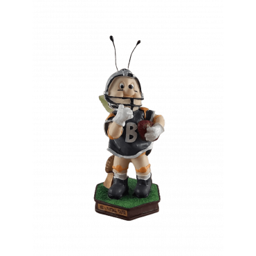 "Figura de resina ""abelha rugby"""