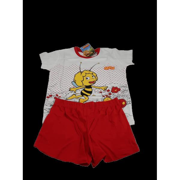 Pijama  abelha Maia e Willy